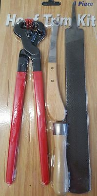 Brand New Hoof Kit/Farrier Trimming Kit Horseshoeing Kit NICE!