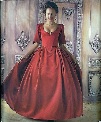 Simplicity Sewing Pattern 8411 Misses 18th Century French Gown Costume New 2017