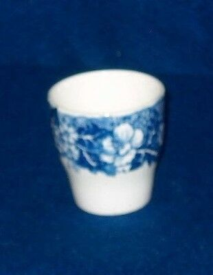 Palissy Pottery Thames River Scenes Egg Cup Blue