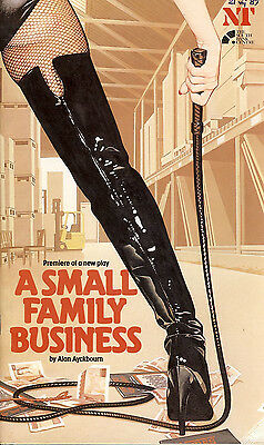 A Small Family Business by Alan Ayckbourn National Theatre Programme refb1230