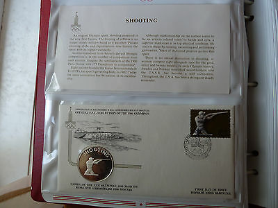 1980 Moscow SHOOTING Silver medal +FDC Stamp +descriptive sheet!!
