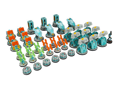 Micro Art Studios BNIB Infinity ITS Scenery Set T00090