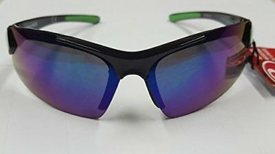 5ff0264a07 Rawlings RY107 RV Shatter Proof Youth Athletic Sunglasses Black Green  10220220