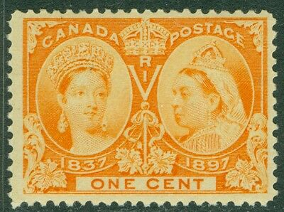 EDW1949SELL : CANADA 1897 Unitrade #51 VF, Mint Never Hinged. PO Fresh. Cat $120