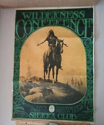 10Th Sierra Club 1St Print 1967 Wilderness Conference Mouse Bindweed Press Rare