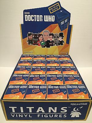 DR DOCTOR WHO Rebel Time Lord Collection Vinyl 20 Mini Figure Unopened Case/Box