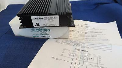 Astron A4812-24 Regulated DC to DC Converter Input 48VDC Out 12VDC 24 Amp Max