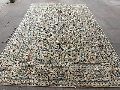 Old Hand Made Traditional Persian Rugs Oriental Wool Green Carpet 336x228cm