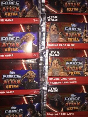 Topps Star Wars Force Attax Extra 65 Sealed Packets
