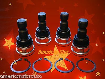 4 American Star Polaris RZR 570, 800, 800 S, 900 High Quality Ball Joints