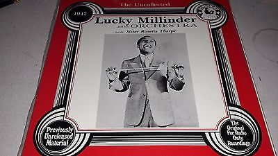 Lucky Millinder & Orchestra Sister Rosetta Tharpe The Uncollected 1942 Vinyl LP