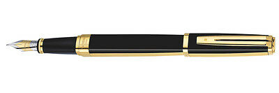 Waterman Exception Night & Day Gold Trim Fine Point Fountain Pen