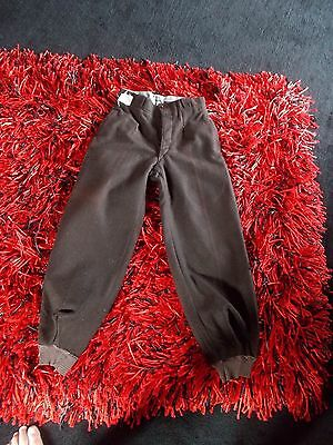 Vintage Pantaloons Trousers Pleats Buttons Am Dram Re-Enactment Wool Bnwotl