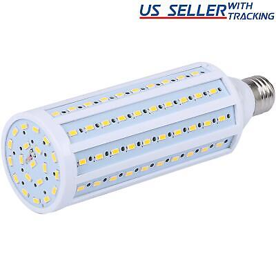 150W Equivalent LED Bulb 120-Chip Corn Light E26 2600lm 24W Soft Warm 2700K