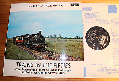 TRAINS IN THE FIFTIES LP ARGO (England) ZTR 131