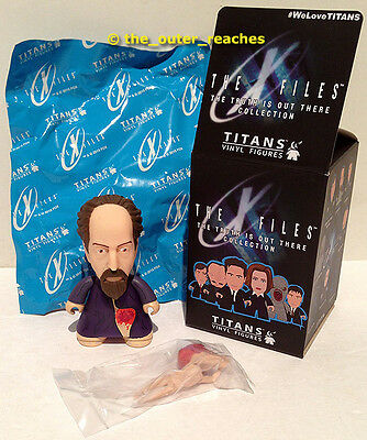 """X-Files The Truth is Out There TITANS Vinyl 3"""" Figure LANNY Variant/Chase"""