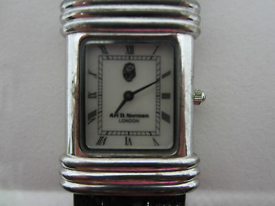 Ari D. Norman Sterling silver watch Made In London