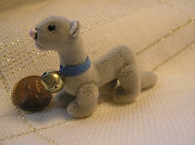 "World of Miniature Bear -  3"" Mini FERRET -Dollhouse pet"