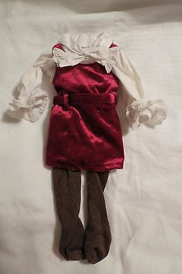 American Girl Doll Julie Christmas Dress / Outfit