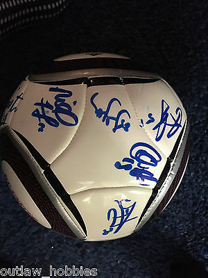 2015 DC United 11 x Team Signed Autographed MLS Soccer Ball COA