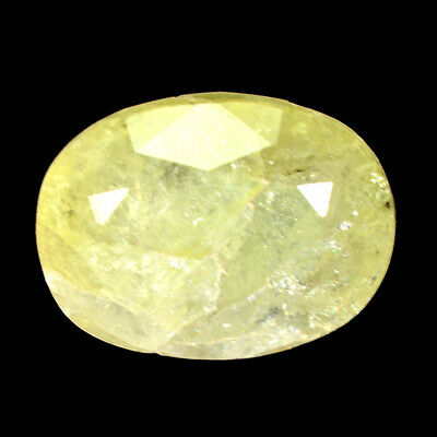 Rare Gems Stone Collection  Madagascar Londonite  5.40 Ct Oval Cut