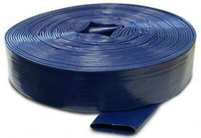"Wolf Blue Layflat 10M Water Discharge Hose 1"" Pipe Pump Irrigation"
