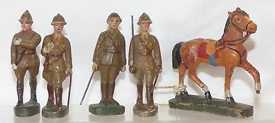 CF02 - RM Belgium composition spare soldiers and horse. Horse 79mm high