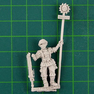 Adepticon 2014 Limited Edition Female Color Sergeant Victoria Miniatures