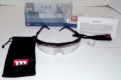 Wilson JET Protective Eyewear for Racquetball & Squash R3012