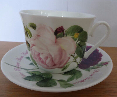 roy kirkham large breakfast cup china cup & saucer 'versailles' 2006 boxed
