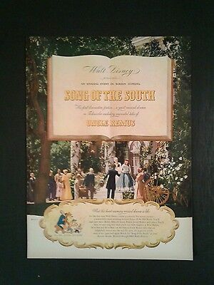 vintage 1963 walt disney s uncle remus song of the south album 1205