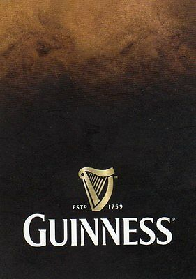 "RARE MINT ""Guinness"" SINGLE Playing Card"