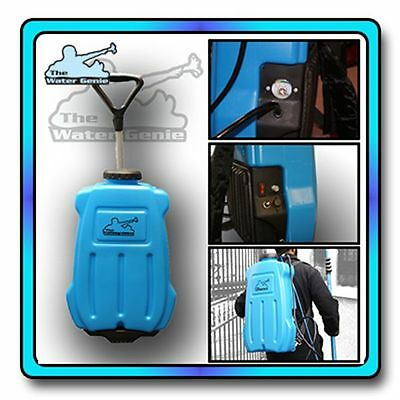 The Water Genie Waterfed Pole Window Cleaning Backpack 20L WFP
