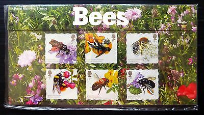 GB 2015 Bees Presentation Pack with M/Sheet NB1425