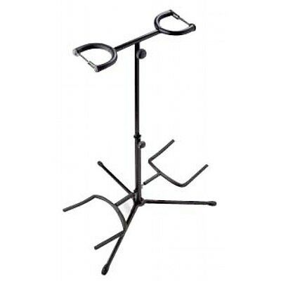 Rocket Double Guitar Stand - Black