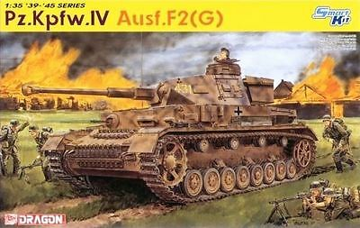 Dragon Plastic Model Kit - Pz.Kpfw.IV Ausf.F2(G) Tank - 6360 - New