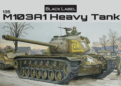 Dragon Plastic Model Kit - M103A1 Heavy Black Label Tank - 1:35 Scale - 3548