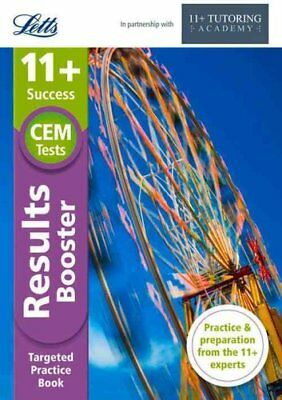 Letts 11+ Success - 11+ Results Booster For the CEM Tests 9781844198443