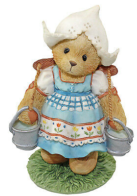 Cherished Teddies Holland Katrien Tulips Blossom with Friendship 202401 Boxed