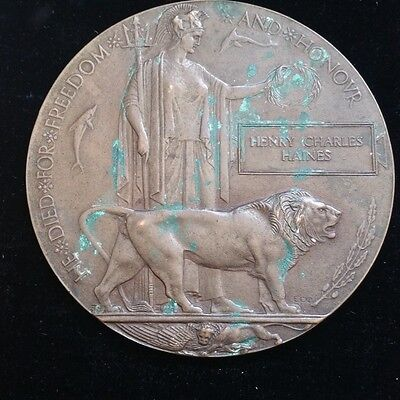 First World War Memorial Plaque 2 possibles - 13th Hussars Ypres & ASC Feltham