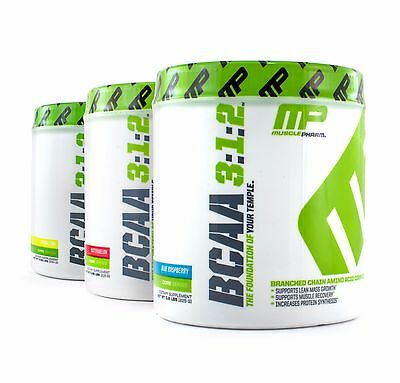 MusclePharm BCAA 3:1:2 Branched Chain Amino Complex Develop Strong Muscle 30 srv