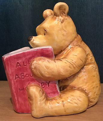 Disney Winnie The Pooh Ceramic Money Box / Coin Bank
