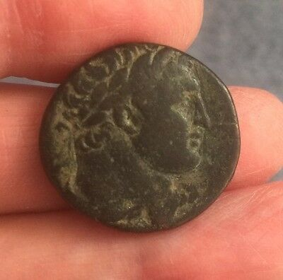 Phoenicia, Tyre. Time Of Trajan (98-117 A.d). Bronze Coin (Ae 23).