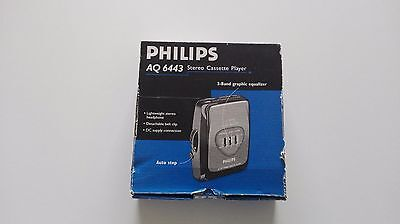 Stereo Radio cassette PHILIPS  AQ6443 ¡¡Completo!! (Vintage)