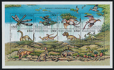 Comoro Islands 890 MNH Prehistoric Animals, Dinosaurs