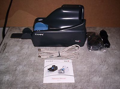 Panini Vision X Check Scanner w/ PS and USB Cable 50 DPM 50 Doc Feeder Inkjet