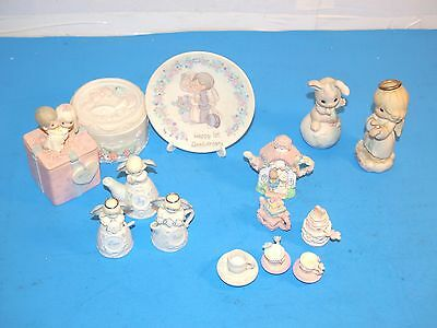 HUGE Precious Moments Lot - Love, Marriage, Anniversary, Miniature Tea Set