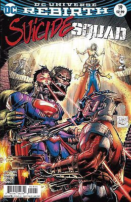Suicide Squad Comic Issue 19 Limited Variant Rebirth Modern Age First Print 2017