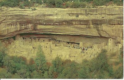 Postcard - Cliff Palace Ruin - Mesa Verde National Park - USED