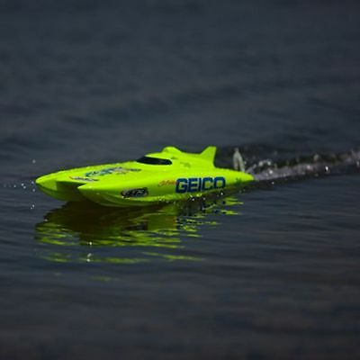 """Miss Geico 17"""" Brushed Catamaran RTR RC Boat (Watch Video)"""